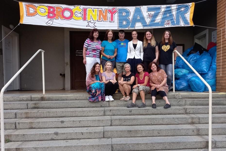 Foto na závěr Dobročinného bazaru 9.-11.9.2021