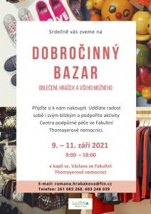 Pozvánka na podzimní bazar